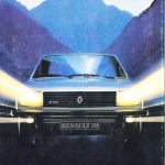 catalogue renault 20 1983 c